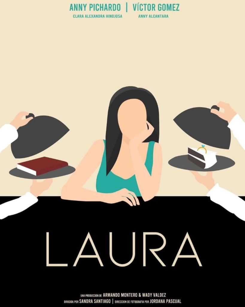 Nueva portada de Laura cortometraje