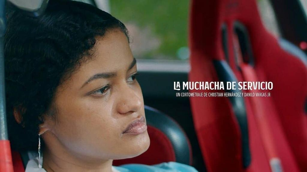 """Portada de """"La Muchacha de Servicio"""""""