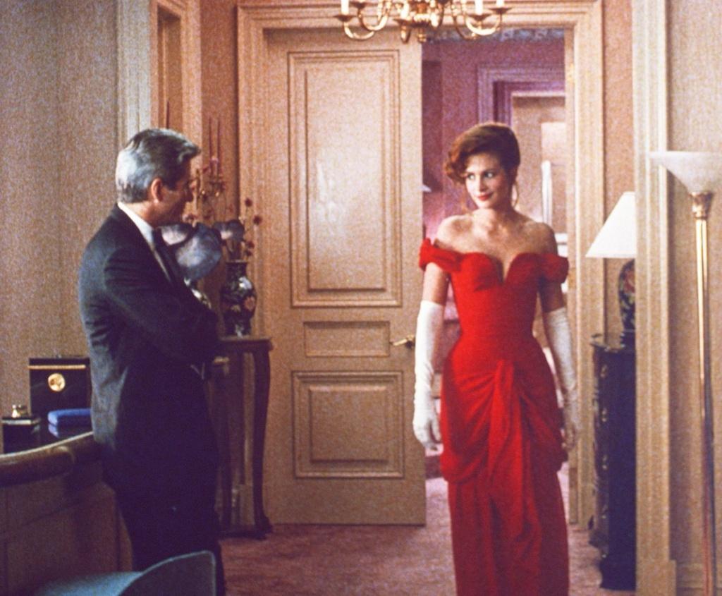 Vestido rojo de Vivian en Pretty Woman