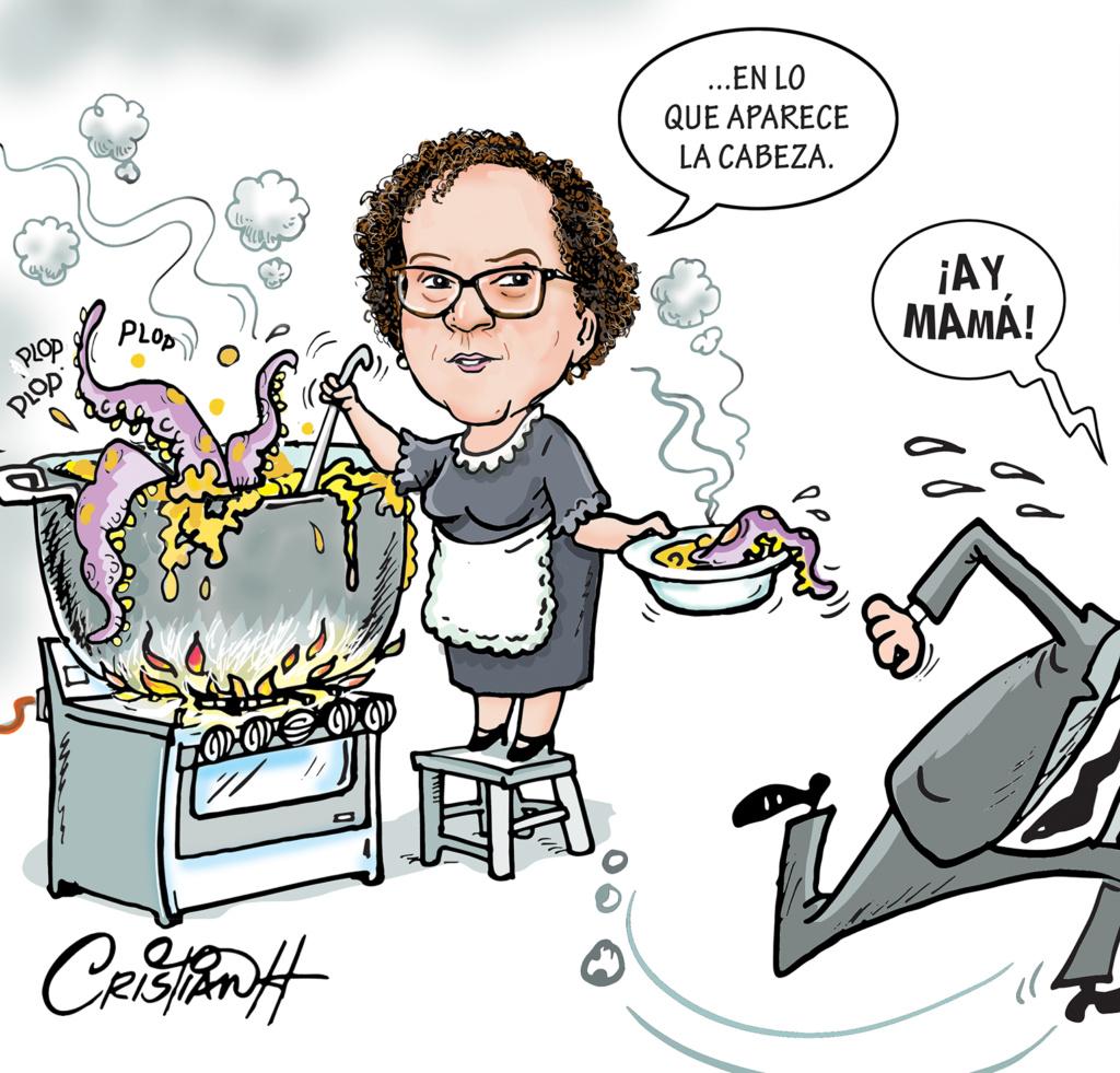 Caricaturistas dominicanos Cristian Hernández
