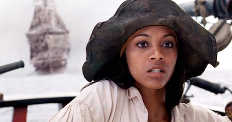 Zoe Saldaña Piratas Del Caribe
