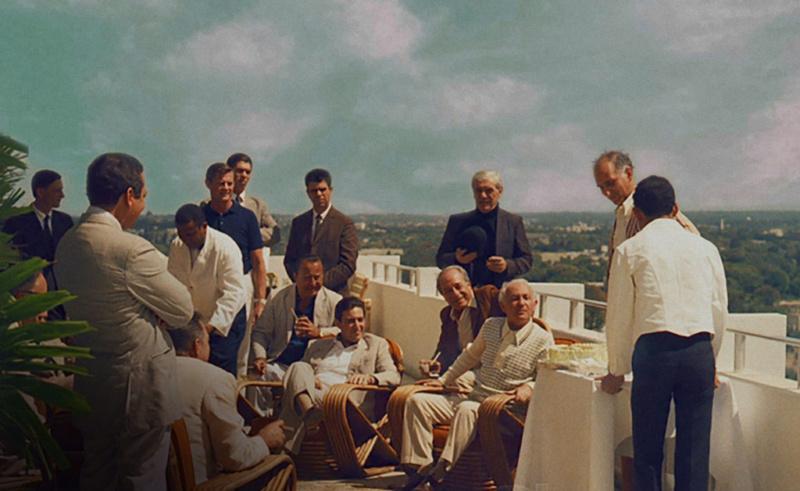 Escena de El Padrino II filmada en la azotea del hotel El Embajador, en la capital dominicana.