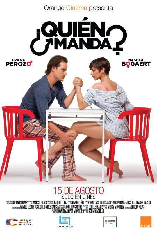 Quién Manda película dominicana en Amazon Prime